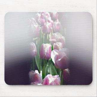 Espejismo del tulipán alfombrillas de raton