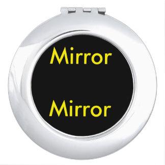 Espejo, acuerdo del espejo espejos de viaje
