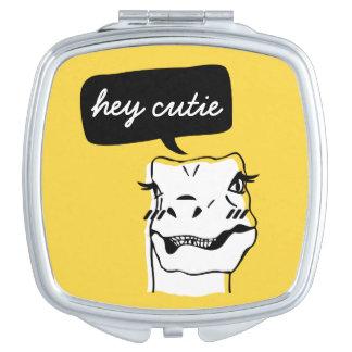 Espejo agradable del acuerdo del rapaz espejos de maquillaje