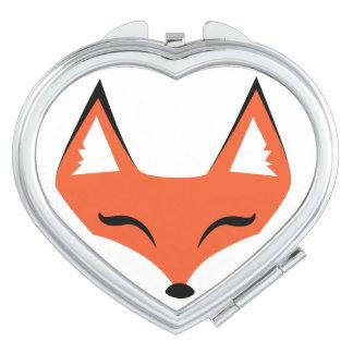 Espejo astuto del acuerdo de la cara del Fox Espejo Para El Bolso