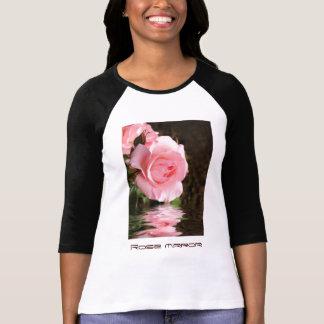 Espejo color de rosa camisetas