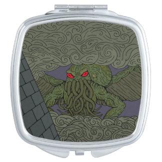 Espejo compacto de Cthulhu