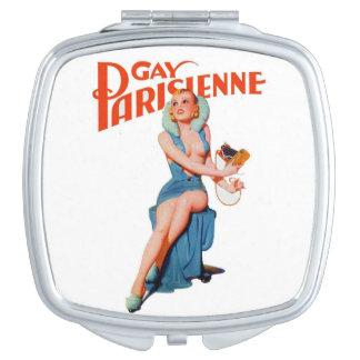 Espejo compacto de Parisienne 12 gay