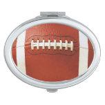 Espejo compacto del fútbol