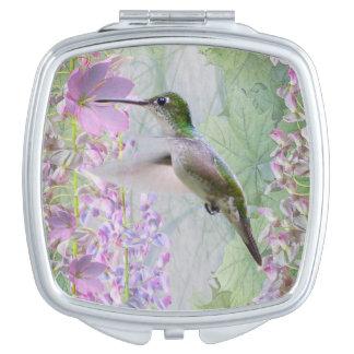 Espejo compacto encantado