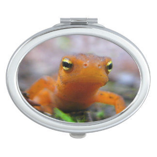 Espejo compacto rojo de Eft