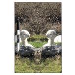 Espejo de la alpaca pizarras blancas de calidad