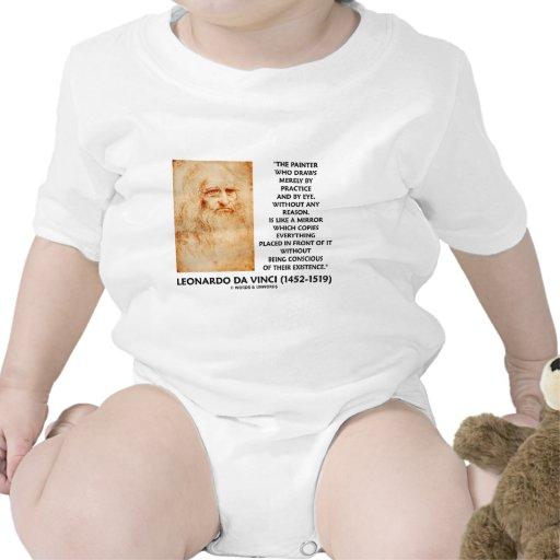 Espejo de la razón de la práctica del pintor de trajes de bebé