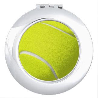 Espejo del acuerdo de la pelota de tenis espejos para el bolso