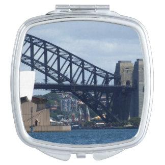 Espejo del acuerdo del puerto de Sydney Espejos Maquillaje