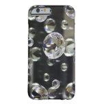 espejo del diamante 3D Funda De iPhone 6 Barely There
