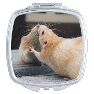 Espejo del espejo del ratón de Marty Espejos Compactos