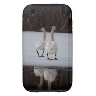 Espejo del espejo funda resistente para iPhone 3