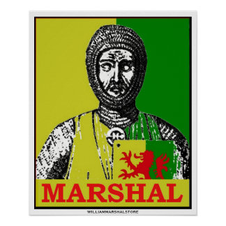 Espejo del mariscal de Guillermo del poster de la