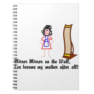 Espejo, espejo cuaderno