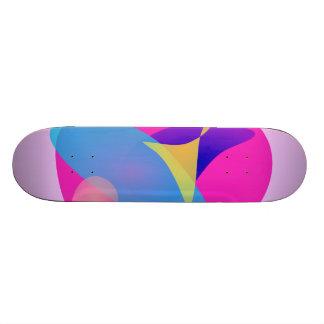 Espejo mágico rosado skate board