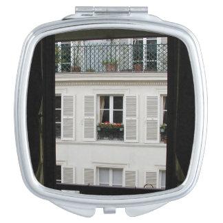Espejo parisiense del acuerdo de la ventana espejos para el bolso