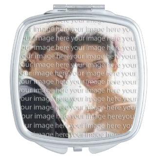 Espejo personalizado del acuerdo de la foto espejo de maquillaje