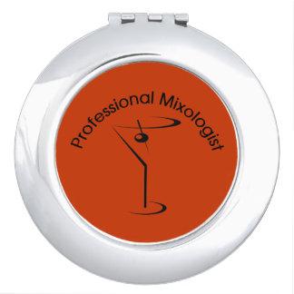 Espejo profesional del acuerdo del Mixologist Espejo Para El Bolso