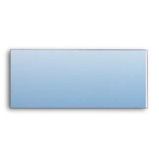 Espejo retrovisor azul en pendiente azul
