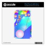 Espejos del alma calcomanía para iPod touch 4G