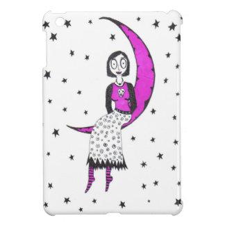 Espeluznante sobre la luna y las estrellas iPad mini funda