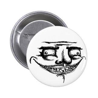 Espeluznante yo Gusta - botón de Pinback Pins