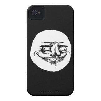 Espeluznante yo Gusta - caso del negro del iPhone Funda Para iPhone 4 De Case-Mate