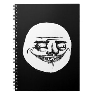Espeluznante yo Gusta - cuaderno negro