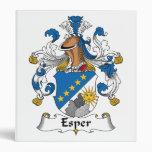 Esper Family Crest Binders