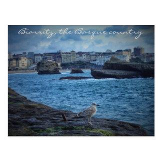 """""""Espera sin fin"""" - Biarritz Postales"""