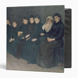 "Esperando en la clínica, 1888 carpeta 1 1/2"""