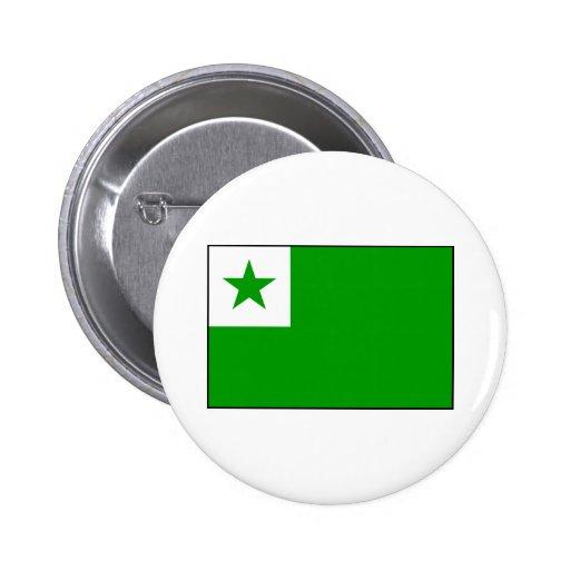 Esperanto - bandera de Esperantist Pins