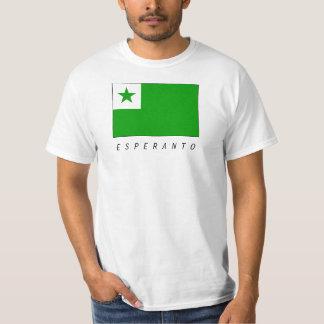 Esperanto bandera remera