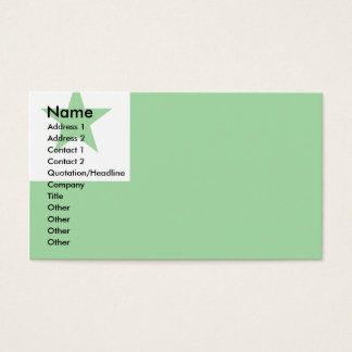 Esperanto Flag Business Card