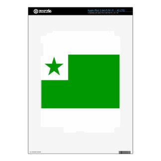 esperanto-Flag iPad 3 Skin