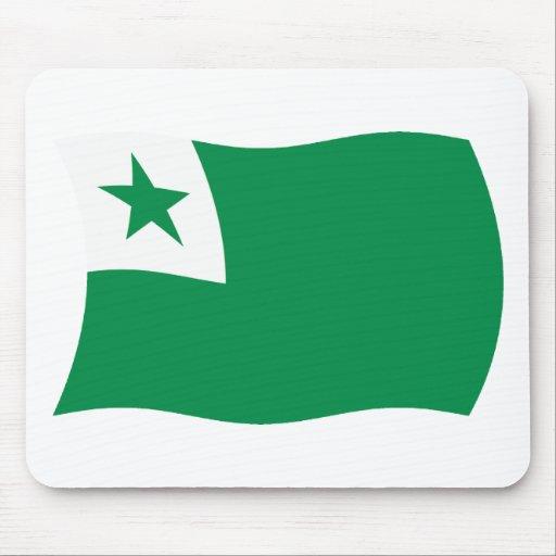 Esperanto Flag Mousepad