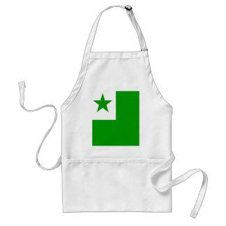 Esperanto High quality Flag Adult Apron