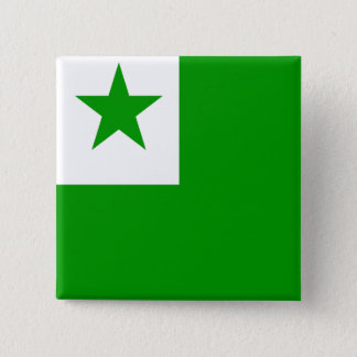 Esperanto High quality Flag Button
