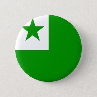 Esperanto High quality Flag Button