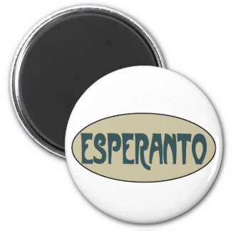 Esperanto Imán De Frigorifico