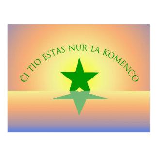 Esperanto: Just the Beginning Postcard