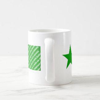 """Esperanto """"La Espero"""" flag mug. Coffee Mug"""