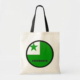Esperanto Roundel quality Flag Tote Bag