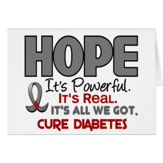 ESPERANZA 1 de la diabetes Felicitacion