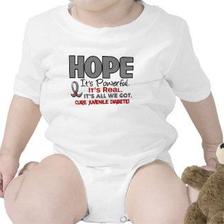 ESPERANZA 1 de la diabetes juvenil Trajes De Bebé