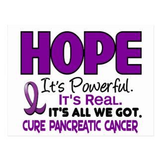 ESPERANZA 1 del cáncer pancreático Postal