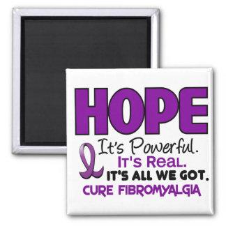 ESPERANZA 1 del Fibromyalgia Imán Cuadrado
