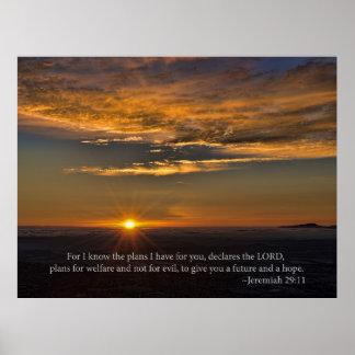 Esperanza - 29:11 de Jeremiah Póster