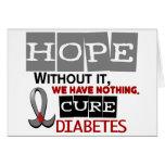 ESPERANZA 2 de la diabetes Felicitación